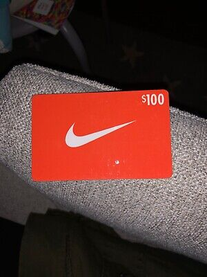 $100 Nike Gift Card Online Or Stores Us Nationwide