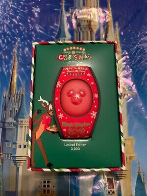Disney WDW Mickey's very merry Christmas party 2019 Magicband LE 3000