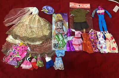 As shown in figure (17 clothes+ accessories) for 11.5in DoLL Xmas Birthday Gift