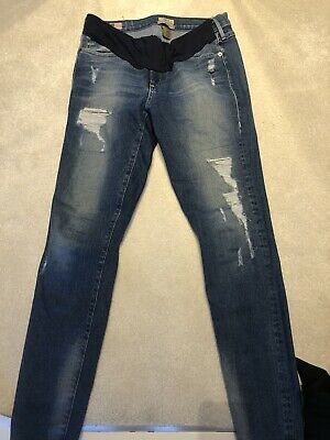 True Religion Under The Bump Maternity Jeans Size 28