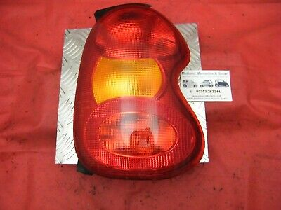 Smart Car 450 Fortwo Cabrio 98-06 - Osr Drivers Right Side Rear Tail Light Scb7