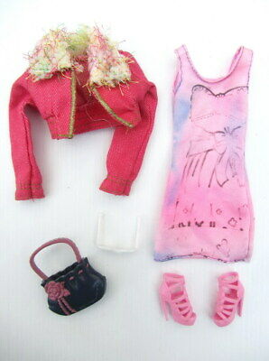 BARBIE DOLL - Genuine Clothes & Accessories - Complete Outfit #28 - Modern Body