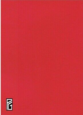 RED Card Thick 210gsm A4 A3 A2 Card Mount board Craft Arts Framing Fast DEL