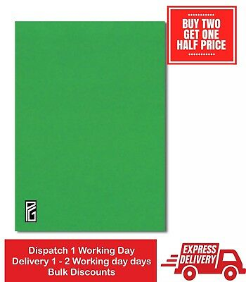 Green Card Pastel 210gsm Thick A4 A3 A2 Card Mount board