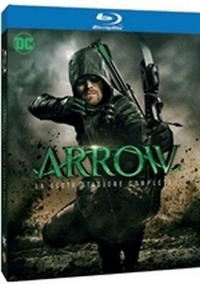 Arrow - Stagione 6 (4 Blu-Ray Disc) - ITALIANO ORIGINALE SIGILLATO -