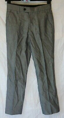 Boys Next Signature Grey Adjustable Waist Formal Suit Trousers Age 11 Years