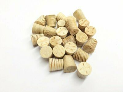 14mm Larch Tapered Wooden Plugs 100pcs
