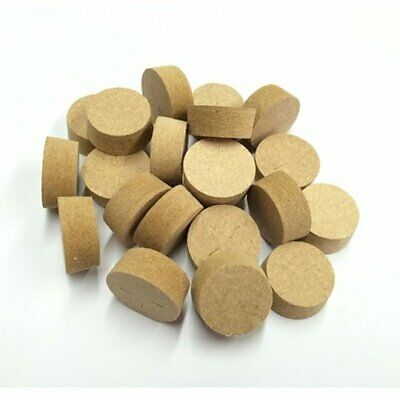 25mm Brown MDF Tapered Wooden Plugs 100pcs