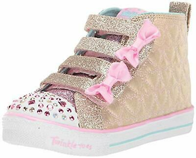 Skechers Kids Girls' Shuffle LITE-Quilted Beauties Sneaker, 11 M US Little Kid