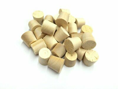 14mm Birch Tapered Wooden Plugs 100pcs