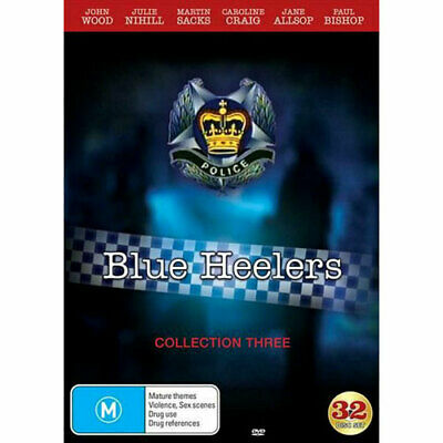 Blue Heelers - Collection 3 DVD NEW (Region 4 Australia)