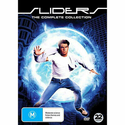 Sliders: The Complete Collection DVD NEW (Region 4 Australia)