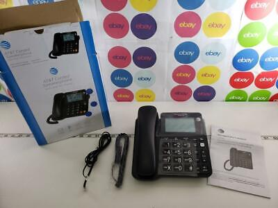 AT&T CORDED SPEAKER TELEPHONE with LCD DISPLAY BLACK CL2940