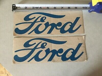 8N5052F Fender Decal Set Fits Ford New Holland 8N Tractor