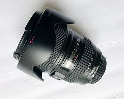 Canon EF 24-105mm F/4l Is USM Autofocus Lens for Canon EOS SLR with Lens Hood