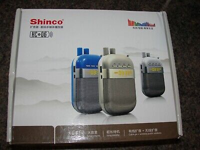Shinco Hc-06 Portable Voice Amplifier