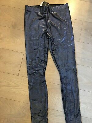 Topshop Leggings Elasticated Checked Skinny NEW Size 8 Worth £25