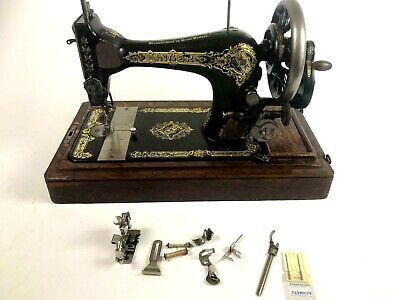 Antique Singer 28K Hand Crank Sewing Machine c1911 - FREE Shipping [5681]