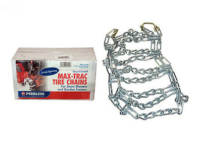 The ROP Shop New 2 Link TIRE Chains /& TENSIONERS 23x10.5x12 for Simplicty Lawn Mower Tractor