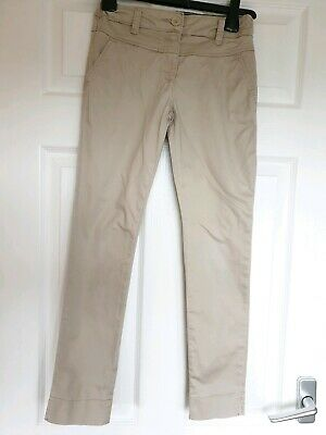 Excellent Condition Matalan Beige Skinny Trousers / Jeans Age 10 Years