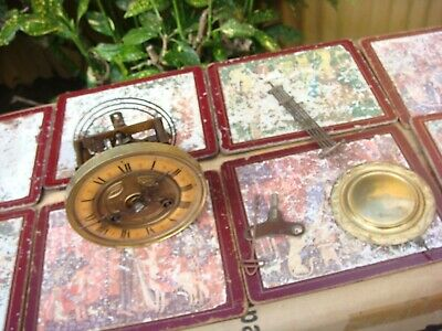 Vintage  German Movement  For Wall Clock  Spare Or Repair