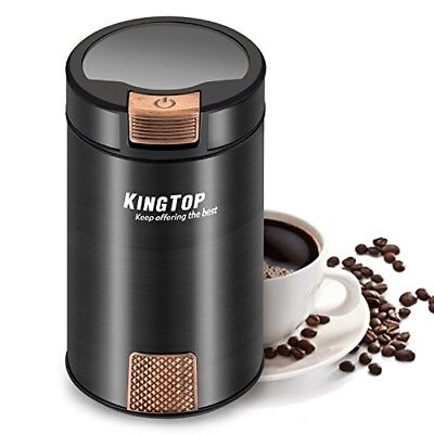 Electric Stainless Steel Blade Coffee Grinder Nut Spice Herb Kitchen Appliance