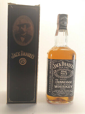 Jack Daniel's Old n° 7 Tennesse Sour Mash Whiskey 75cl 45° (90 proof)
