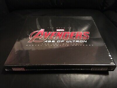MARVELS The Art Of The Road To Avengers Age Of Ultron NEW & FACTORY SEALED!