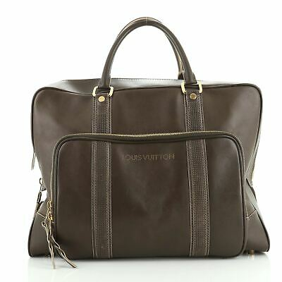 Louis Vuitton Bequia 24 Hour Suitcase Bag Nomade Leather