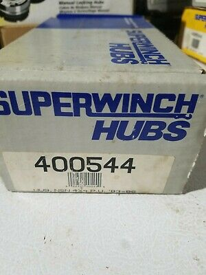 Locking Lockout Hubs 83-86 Nissan 720 Hardbody Superwinch 400544