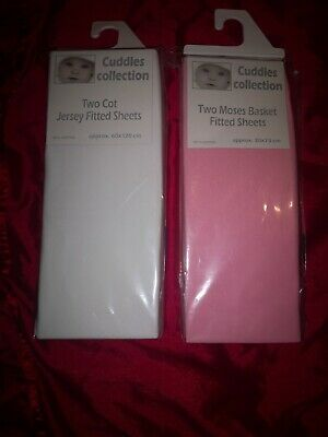 Cuddles collection baby sheets