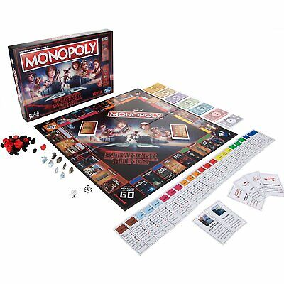 Monopoly Stranger Things Edition Netflix Board Game Collectible NEW