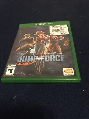 Jump Force (Microsoft Xbox One, 2019) Pre-Owned