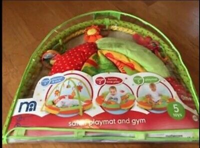 Mothercare jungle theme baby play mat/play gym