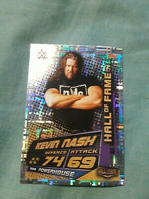 Topps - WWE Slam Attax Universe - Kevin nash 309- Hall of Fame Card