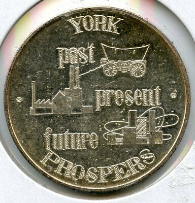 225th Anniversary of Historic York .999 Silver Medal 1966 First capital - BG394