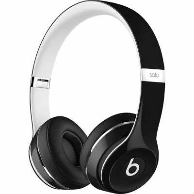 Beats by Dr. Dre Solo2 Black Luxe Edition Wired On Ear Headphones ML9E2AM/A