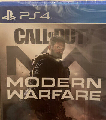 Call of Duty: Modern Warfare (PlayStation 4, 2019) Brand new