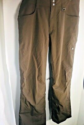 Planet Earth sz LARGE brown Snow Pants Recycled materials breathable waterproof