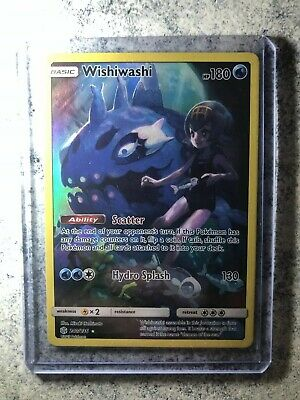 Pokemon - Wishiwashi - 240/236 - Secret Rare - Cosmic Eclipse Holo Card