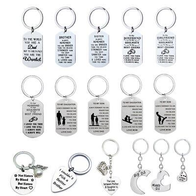 Christmas Gifts For Daughter Son Dad Mom Aunt Husband Boyfriend Keyring Presents