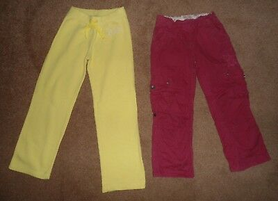 Girls Stylish Trousers & Sweatpants Bundle Age 6-7 Years - Fat Face & Gap