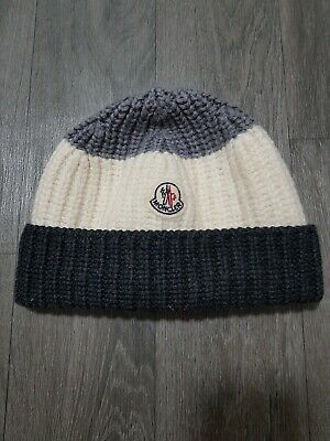 MONCLER BOYS HAT Size XS (12-24 months) KNITTED,BEANIE,WINTER,WOOL,AUTHENTIC