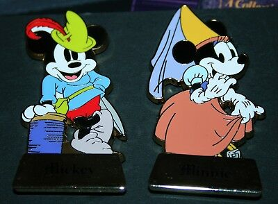 DLR Happily Ever After Mystery pin set - Mickey & Minnie LE 500 PreProductions
