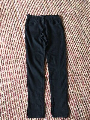Girls Black Skinny Jeans Age 13 By Matalan