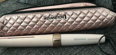 Remington Curl Revolution Automatic Hair Curler Auto Curling Wand Used Once