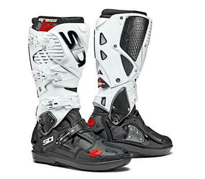Sidi Crossfire 3 SRS Boots - White Black - ALL SIZES - Free shipping