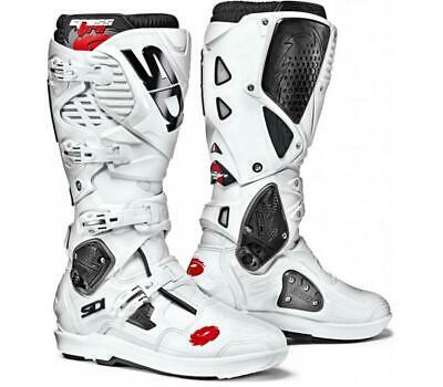 Sidi Crossfire 3 SRS Boots - White- ALL SIZES - Free shipping