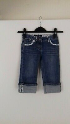 Mini Boden  Denim Long line Shorts/ Trousers Age 5