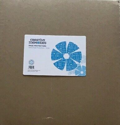 New in Package Creative Memories 12x12 Page Protectors- 16 Sheets